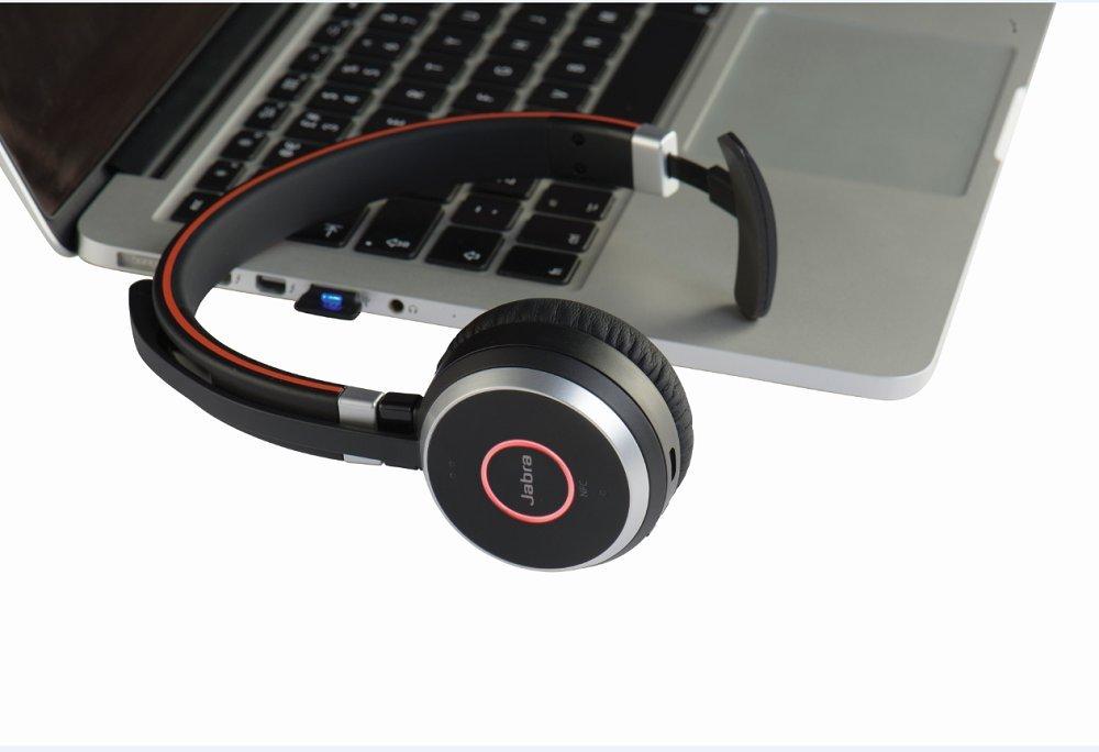 Jabra Evolve 65 MS mono - Auriculares (Monoaural, Negro, Diadema, Wired/Bluetooth, Microsoft, USB): Jabra: Amazon.es: Electrónica