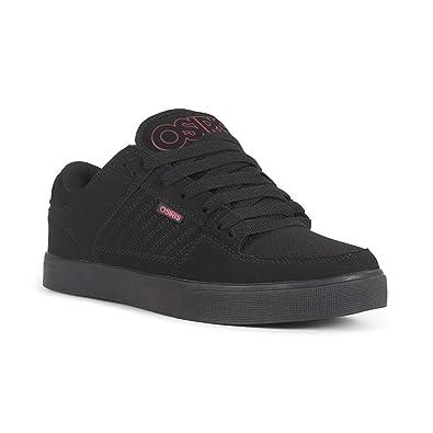 f02cd4d22e4 Amazon.com: Osiris Protocol Mens Black Nubuck Sneakers Lace Up Skate ...