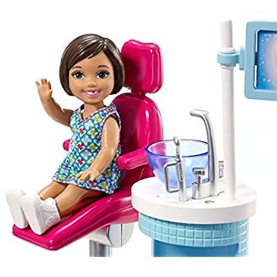 Barbie Dentist Doll & Playset: Toys & Games