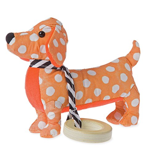 Manhattan Toy Dotty Pup Sensory Rattle and Teether Baby (Pup Rattle)