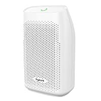 Hysure Small and Portable Dehumidifier Electric, Air Purifier for Baby Room, Deshumidificador, Quiet Dehumidifier for Home, Crawl Space, RV, Bathroom, White