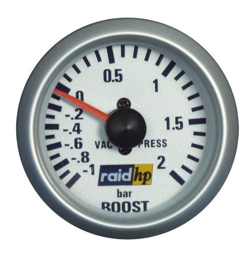 Raid HP 660218 laaddrukindicator, extra instrument Silver Line