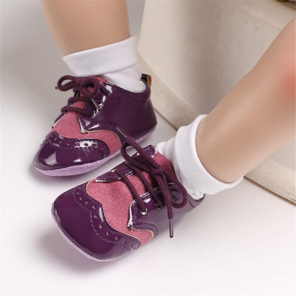 AUPUMI Infant Baby Girl Shoes Toddler Casual Sneakers Flat First Walkers Shoes Wedding Dress Princess Shoes