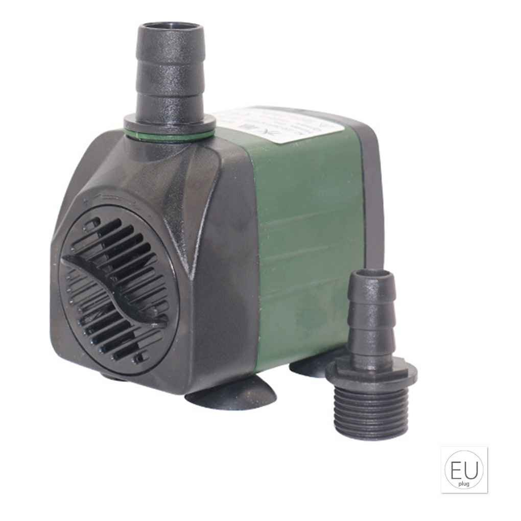 Providethebest Short Pump Water Fish Tank Pond Water Foundation circolazione iniezione Tranquillo Parco sommergibili Low Noise EU plug(220-240V) Provide The Best