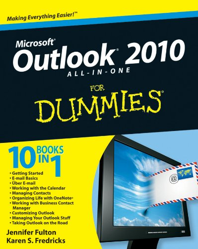 Business 2010 Calendar - Outlook 2010 All-in-One For Dummies