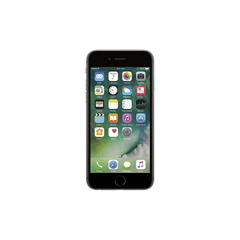 Apple iPhone 6S, T-Mobile, 16GB - Space Gray (Refurbished)