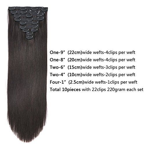 Buy clip in human hair extensions reviews