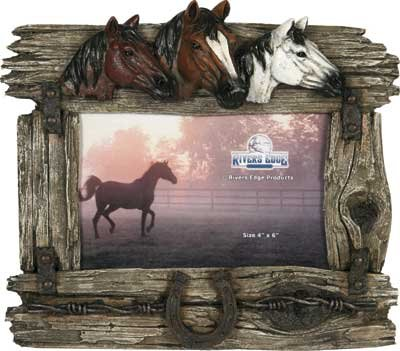 Horse Picture Frames | Kritters in the Mailbox | Horse Picture Frame