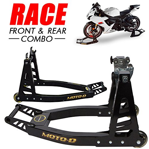 Suzuki Stand - MOTO-D Swingarm Motorcycle Stands (Front & Rear)