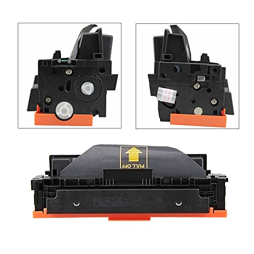 V4INK New Compatible HP 410A CF410A CF411A CF412A CF413A Toner Cartridge for HP Color LaserJet Pro M452dn M452nw M452dw M377dw,MFP M477fdn M477fdw M477fnw (4 Pack - Black/Cyan/Yellow/Magenta) Photo #7