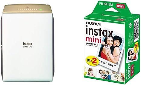 Fujifilm Instax Share SP-2 - Impresora para Smartphones (62 mm x ...