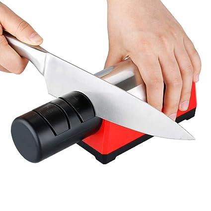 ZUEN Afilador de Cuchillos eléctrico Profesional Sistema de ...