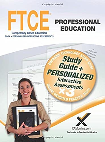 ftce professional education book and online sharon wynne rh amazon com FTCE Prep FTCE Exam Prep