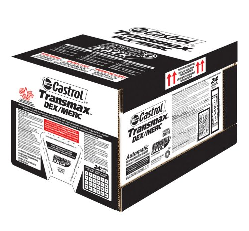 Castrol 60018 TRANSMAX DEX/MERC ATF, 6 Gallon by Castrol