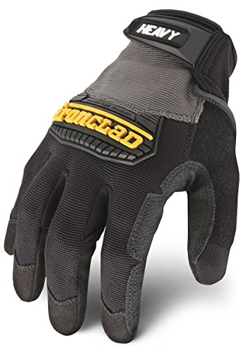 - Ironclad Heavy Utility Work Gloves HUG, High Abrasion Resistance, Performance Fit, Durable, Machine Washable, Sized S, M, L, XL, XXL (1 Pair)