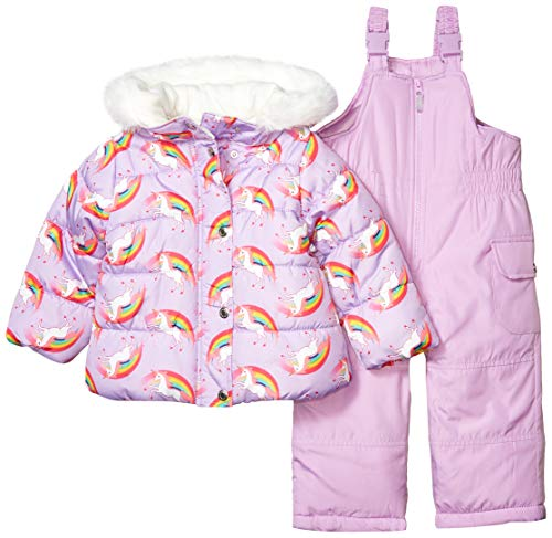 Carter's Girls' Heavyweight 2-Piece Skisuit Snowsuit