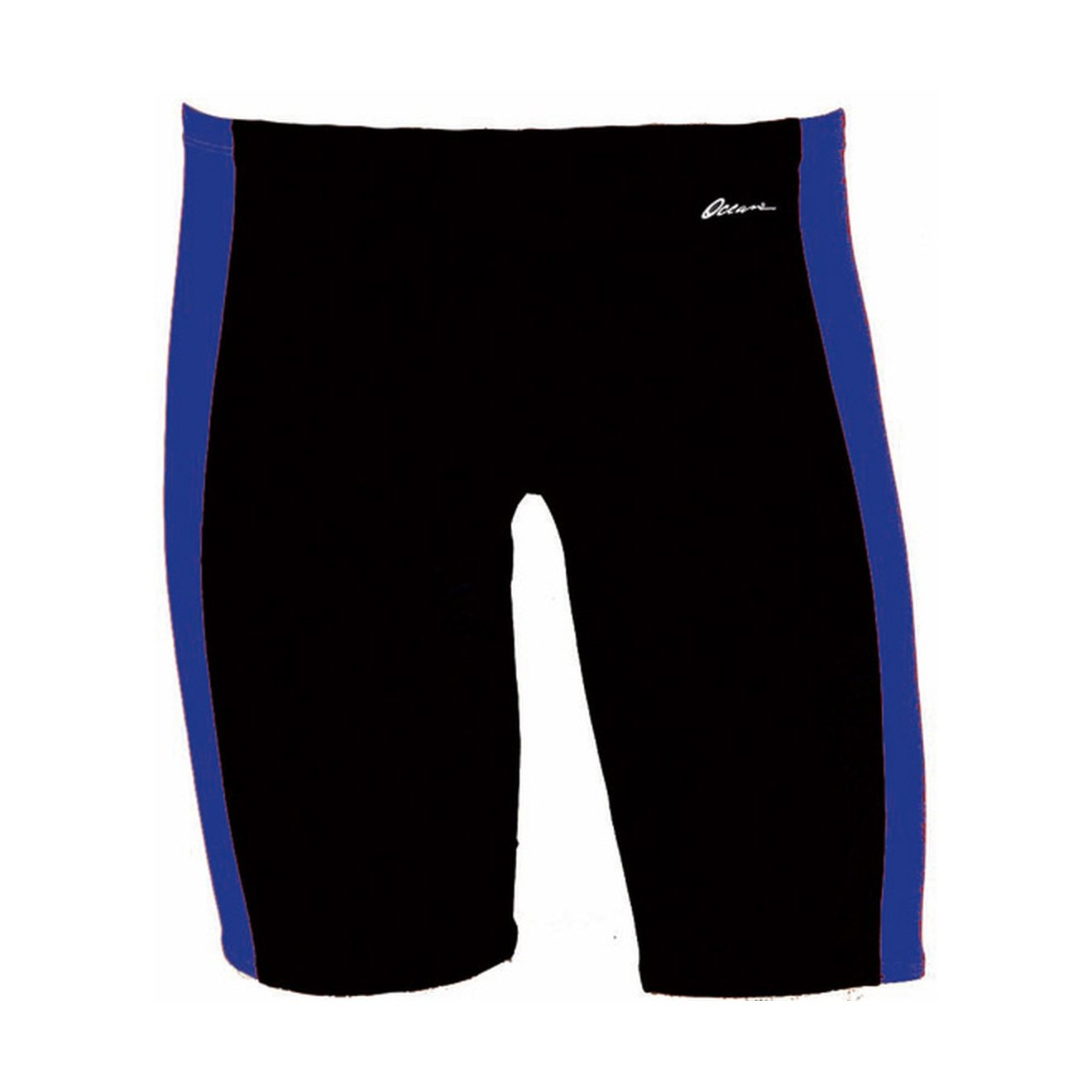 Dolfin Swimwear Ocean Panel Jammer - Black/Royal, 30