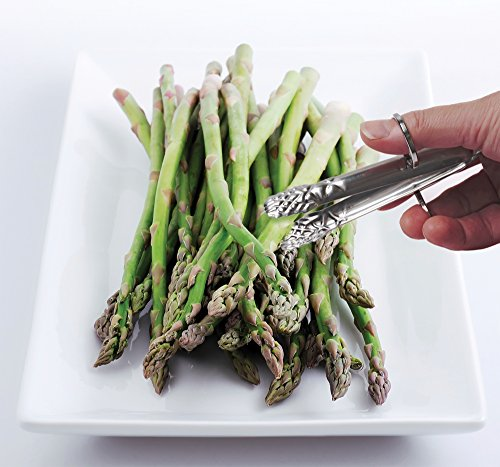 Stainless Steel Endurance Asparagus Tongs