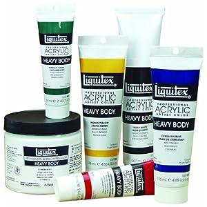 Liquitex 1045323 2 oz Pyrrole Acrylic Paint, 2-oz Tube, Orange