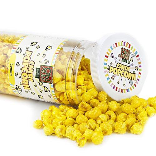 Yellow Candy Coated Popcorn Lemon product image