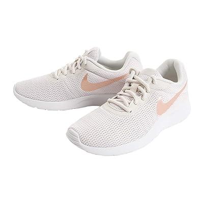 sports shoes 251cf 5fc3e Nike Damen WMNS Tanjun Laufschuhe, Mehrfarbig (Phantom/Crimson Tint/Light  Bone/