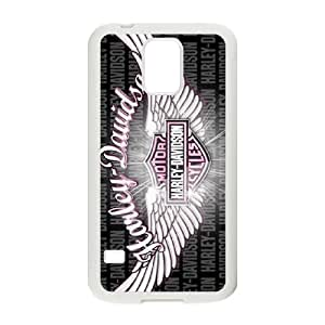 Samsung Galaxy S5 Cell Phone Case White Harley Davidson Phone Case Cover Design Unique XPDSUNTR31450