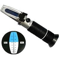 ulable 0–32% Brix portátil miel refractómetro comprobador