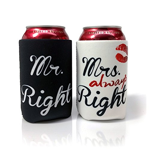 bride and groom can coolers - 5