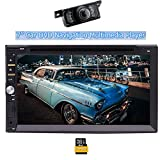 "Eincar 7"" Touch Screen Double DIN Car Stereo Head Unit with Wince 8.0"