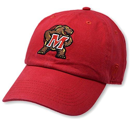 Elite Fan Shop Maryland Terrapins Kids Hat Icon Red