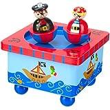 Orange Tree Toys Pirate Music Box
