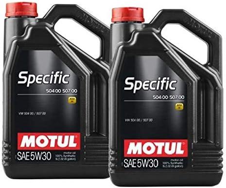 MOTUL Aceite Lubricante Specific 504.00-507.00 5w30, Pack 10 litros: Amazon.es: Coche y moto