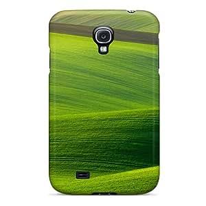 New Landscape Beautiful Green Hills Tpu Case Cover, Anti-scratch PonTjjM2502HbUAD Phone Case For Galaxy S4