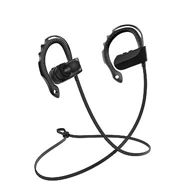Tair inalámbrico auriculares Bluetooth oreja colgante tipo deportes auriculares para gimnasio, correr, ejercicio,