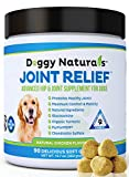 Joint Relief | Glucosamine for Dogs All Natural Hip & Joint Supplement for Dogs, Glucosamine, Chondroitin, MSM, Turmeric, Gluten Free, Vitamin, Arthritis Pain, Hip Dysplasia, Relief MobilityMADE USA