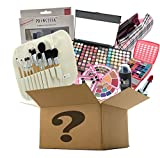 BR Makeup Surprise Mystery Box Gift Set - Exclusive All in One Makeup Set - Include Pro Makeup Brush Set, Eyeshadow Palette, Makeup Set, Lip Stick and Much More - COLORS VARIES