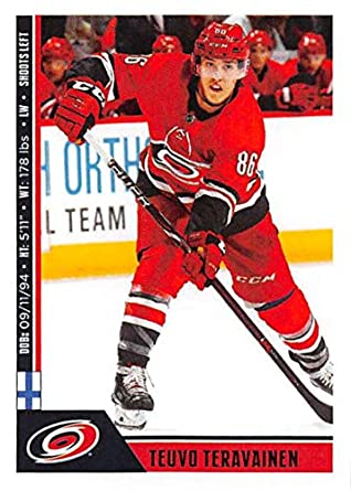 2018-19 Panini NHL Stickers Hockey  55 Teuvo Teravainen Carolina Hurricanes f1f0d93b4