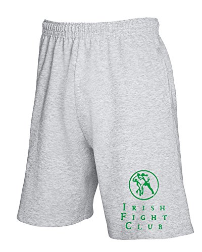Irish Tir0095 Grigio T shirtshock Pantaloncini Club Tuta White Fight qFxHIXn