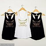 Bride shirt,Squad Shirt,Cat Bride,Cat Squad shirt bachelorette party shirts,bridal party tank tops,bride shirt