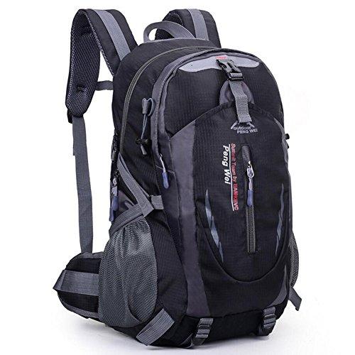 Waterproof Nylon Travel Mountaineering Leisure Hiking Bag Green - 6
