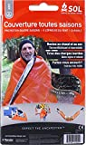 S.O.L Survive Outdoors Longer All Season Blanket, Thermal Blanket and Emergency Shelter, 5' x7'