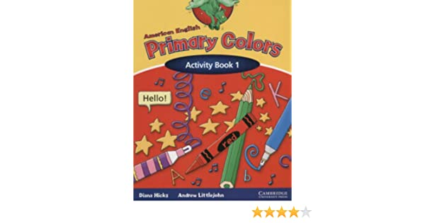 American English Primary Colors 1 Activity Book (Primary Colours ...