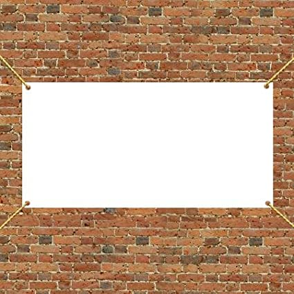 Amazoncom X Vinyl Banner Blank Oz Vinyl Office Products - Blank vinyl banners