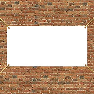 Amazon.com: 3' x 6' Vinyl Banner Blank - 10 oz. Vinyl: Office Products