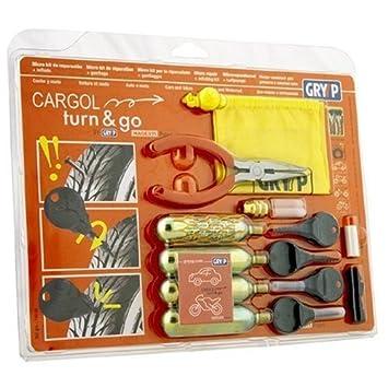 Caliber Cargol K007/Tyre Repair Set with 3x CO2/Cartridges