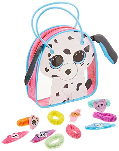 Fetch Dalmatian - Koehler 12010576 15 Inch Fetch The Dalmatian Beanie Boo Bag Set