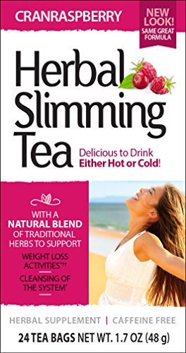 (21st Century Slimming Tea, Cran Raspberry, 24 Count)