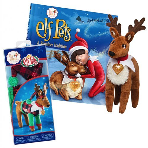 Elf on the Shelf(R) Reindeer Plush Playset ()