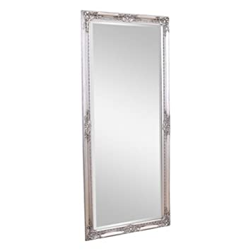 Cool Eton Large Full Length Silver Shabby Chic Leaner Wall Mirror Download Free Architecture Designs Scobabritishbridgeorg