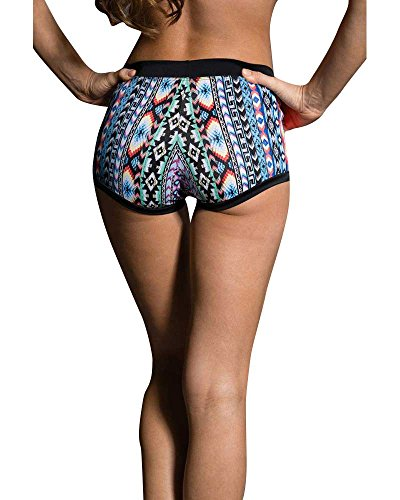 Cheap Onzie Yoga Wear Short Block Short 299 Friendship (Friendship, Small/Medium)
